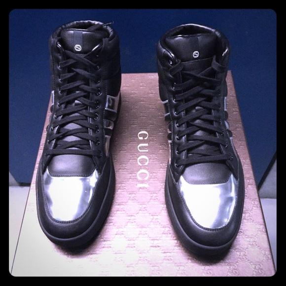 6e4cb7545 Gucci Shoes | Fashion Sneaker Hitop | Poshmark